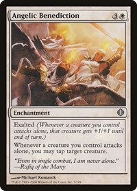 Angelic Benediction, Magic: The Gathering, Shards of Alara