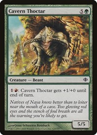 Cavern Thoctar, Magic: The Gathering, Shards of Alara