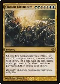 Clarion Ultimatum, Magic: The Gathering, Shards of Alara