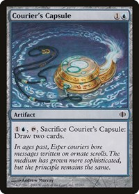 Courier's Capsule, Magic: The Gathering, Shards of Alara