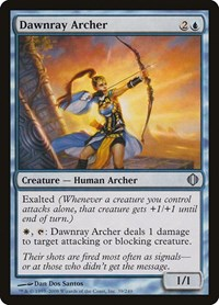 Dawnray Archer, Magic: The Gathering, Shards of Alara