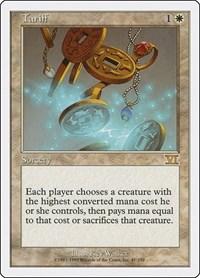 Tariff, Magic: The Gathering, Classic Sixth Edition