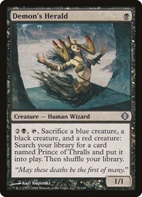 Demon's Herald, Magic: The Gathering, Shards of Alara