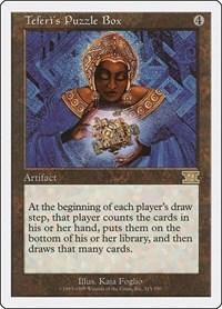 Teferi's Puzzle Box, Magic: The Gathering, Classic Sixth Edition