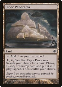Esper Panorama, Magic: The Gathering, Shards of Alara