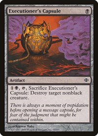 Executioner's Capsule, Magic: The Gathering, Shards of Alara