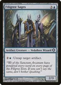 Filigree Sages, Magic: The Gathering, Shards of Alara