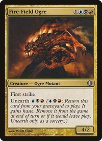 Fire-Field Ogre, Magic: The Gathering, Shards of Alara