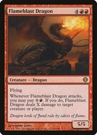 Flameblast Dragon, Magic: The Gathering, Shards of Alara