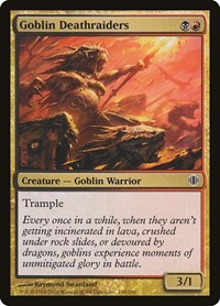 Goblin Deathraiders, Magic: The Gathering, Shards of Alara