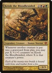 Kresh the Bloodbraided, Magic: The Gathering, Shards of Alara