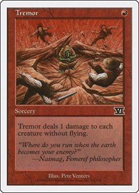 Tremor, Magic: The Gathering, Classic Sixth Edition