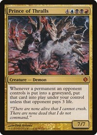 Prince of Thralls, Magic: The Gathering, Shards of Alara