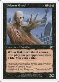 Dakmor Ghoul, Magic, Starter 1999