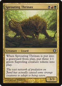 Sprouting Thrinax, Magic: The Gathering, Shards of Alara