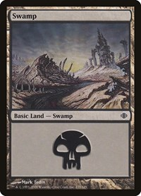 Swamp (239), Magic: The Gathering, Shards of Alara