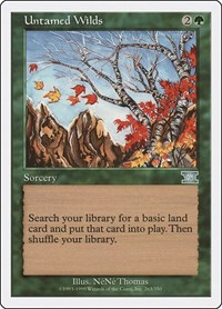 Untamed Wilds, Magic, Classic Sixth Edition