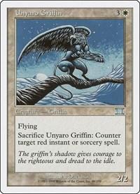 Unyaro Griffin, Magic: The Gathering, Classic Sixth Edition