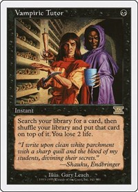 Vampiric Tutor, Magic, Classic Sixth Edition