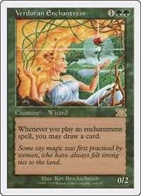 Verduran Enchantress, Magic: The Gathering, Classic Sixth Edition