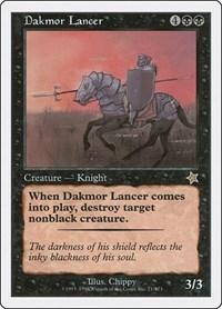 Dakmor Lancer, Magic: The Gathering, Starter 1999