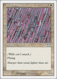 Wall of Swords, Magic: The Gathering, Classic Sixth Edition