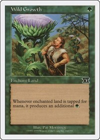 Wild Growth, Magic: The Gathering, Classic Sixth Edition