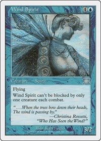 Wind Spirit, Magic: The Gathering, Classic Sixth Edition