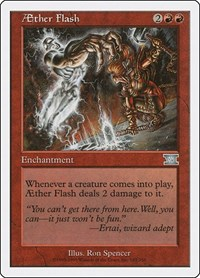 Aether Flash, Magic: The Gathering, Classic Sixth Edition