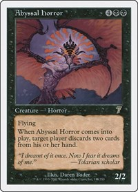 Abyssal Horror, Magic: The Gathering, 7th Edition