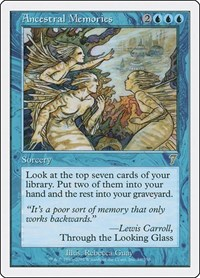 Ancestral Memories, Magic: The Gathering, 7th Edition