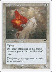 Angelic Page, Magic: The Gathering, 7th Edition