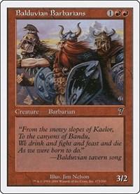 Balduvian Barbarians, Magic: The Gathering, 7th Edition