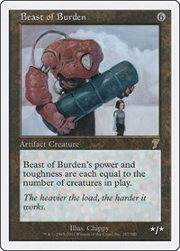 Beast of Burden, Magic: The Gathering, 7th Edition