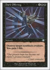 Dark Offering, Magic: The Gathering, Starter 1999