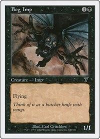 Bog Imp, Magic: The Gathering, 7th Edition