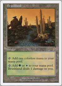 Brushland, Magic: The Gathering, 7th Edition