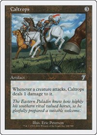 Caltrops, Magic: The Gathering, 7th Edition