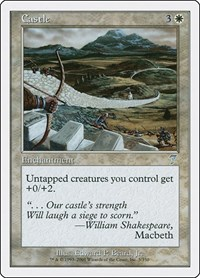 Castle, Magic: The Gathering, 7th Edition