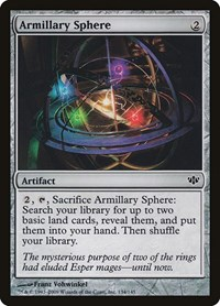 Armillary Sphere, Magic: The Gathering, Conflux