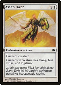Asha's Favor, Magic: The Gathering, Conflux