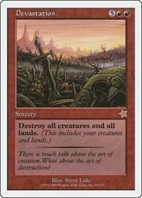 Devastation, Magic, Starter 1999