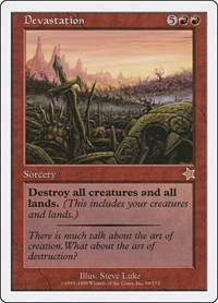 Devastation, Magic: The Gathering, Starter 1999