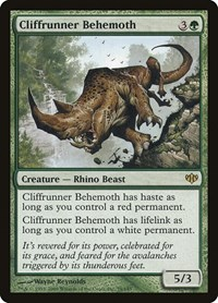 Cliffrunner Behemoth, Magic: The Gathering, Conflux