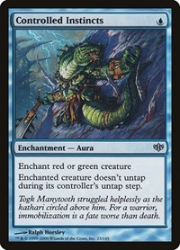 Controlled Instincts, Magic: The Gathering, Conflux
