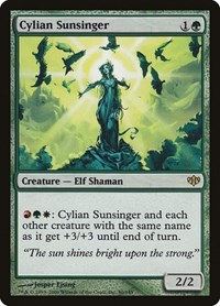 Cylian Sunsinger, Magic: The Gathering, Conflux