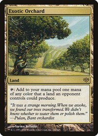 Exotic Orchard, Magic: The Gathering, Conflux