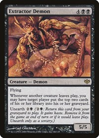 Extractor Demon, Magic: The Gathering, Conflux