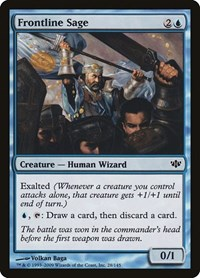 Frontline Sage, Magic: The Gathering, Conflux
