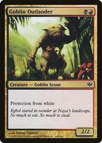 Goblin Outlander, Magic: The Gathering, Conflux